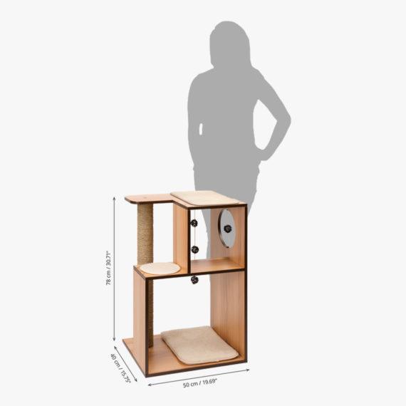 Vesper Box Large – Walnut measurements