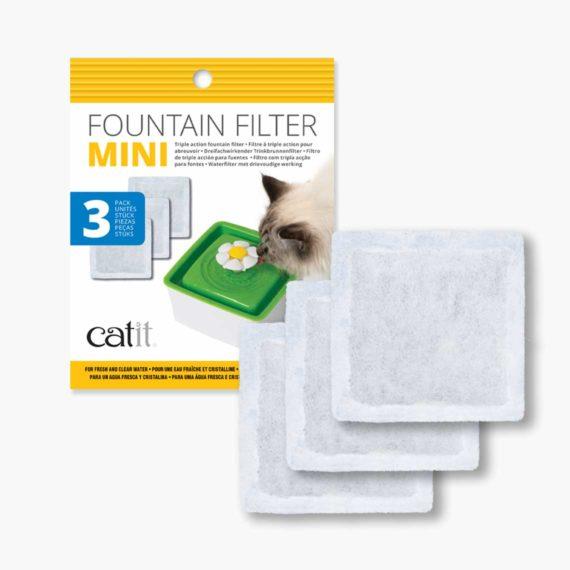 Mini Fountain triple action filter