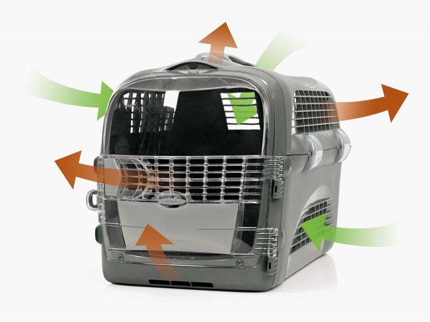 Optimal air flow and ventilation