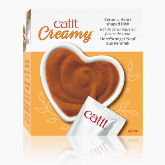 Creamy Heart Dish packaging