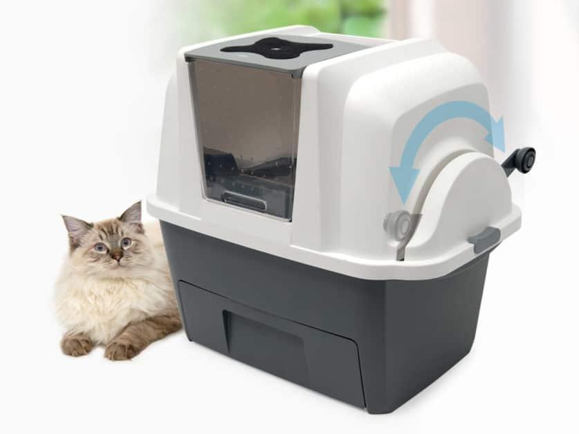 Catit SmartSift mit Katze