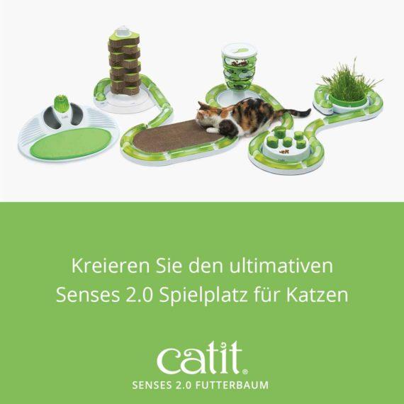 Catit Senses 2.0 Futterbaum - Kreieren Sie den ultimativen Senses 2.0 Spielplatz für Katzen