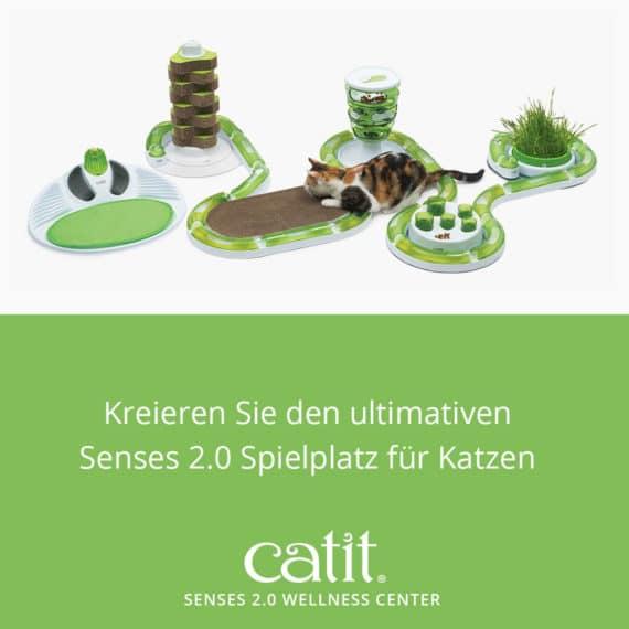 Catit Senses 2.0 Wellness Center - Schaffen Sie den ultimativen Senses 2.0 Spielplatz für Katzen
