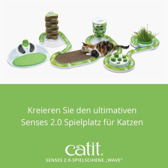 """Catit Senses 2.0-Spielschiene """"Wave"""" – Kreieren Sie den ultimativen Senses 2.0 Spielplatz für Katzen"""