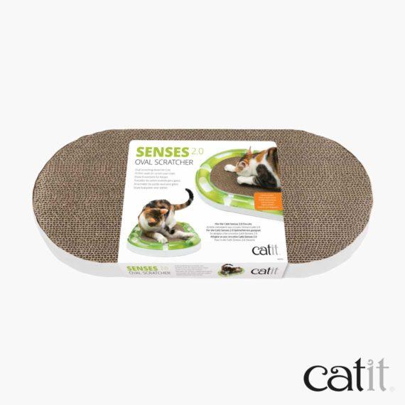 Catit Senses 2.0 Ovale Kratzmatte - Verpackung