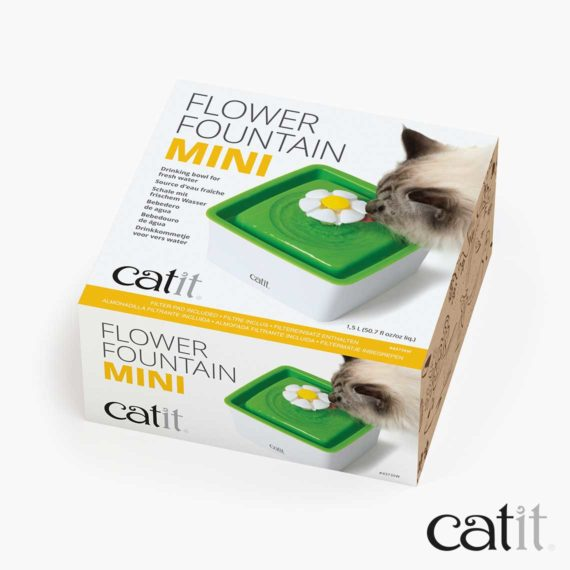 Catit Mini Flower Fountain packaging