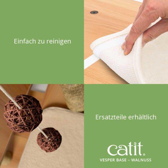 Catit Vesper Base - Einfach zu reinigen und Ersatzteile erhältlich