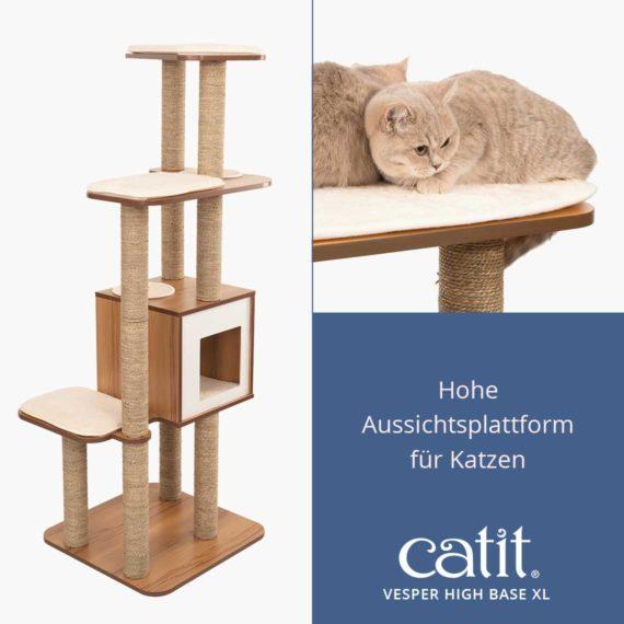 Catit Vesper High Base XL - Hohe Aussichtsplattform für Katzen