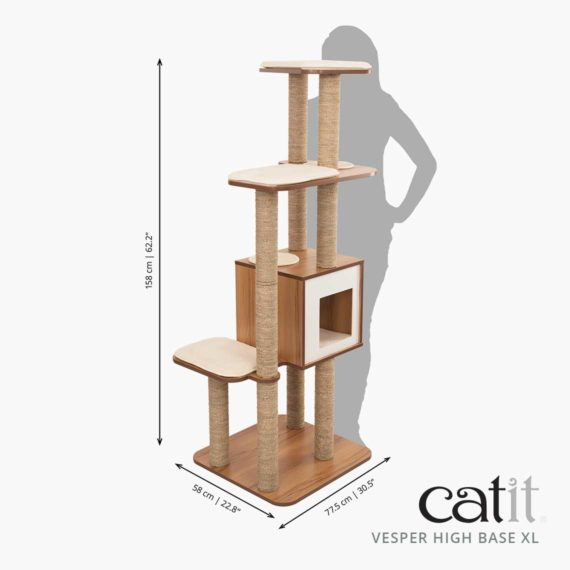 Catit Vesper High Base XL - Größe