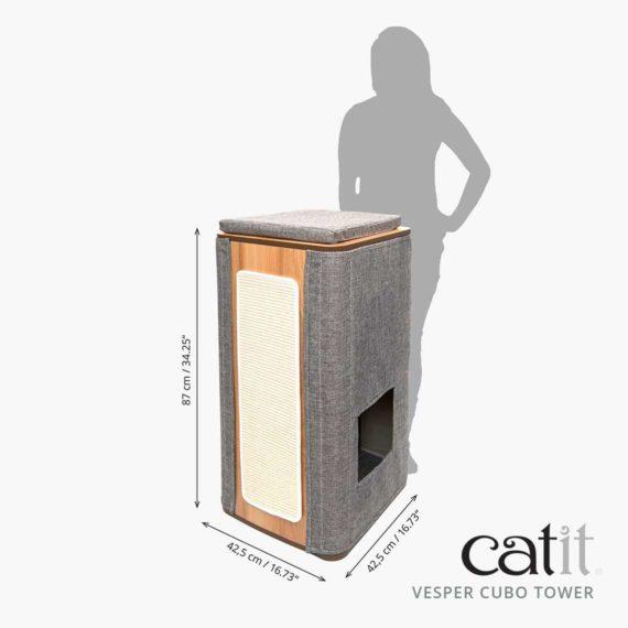 Catit Vesper Cubo Tower – Maß