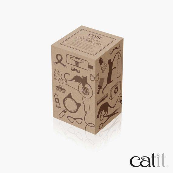 Catit Kurzhaar-Pflegeset - Verpackung