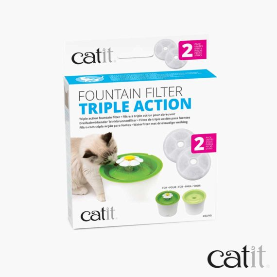 Catit Triple Action Filter packaging
