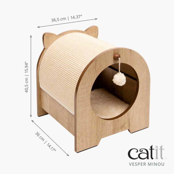 Catit Vesper Minou measurements
