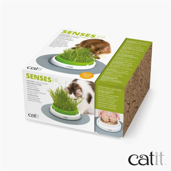Catit Senses 2.0 Grastopf - Verpackung