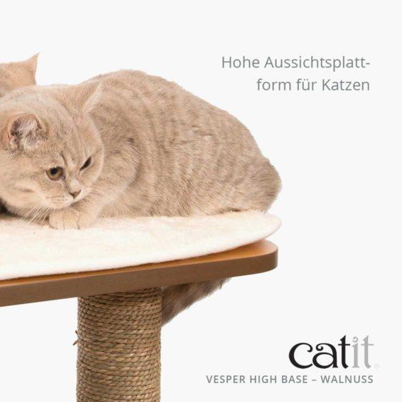 Catit Vesper High Base - Hohe Aussichtsplattform für Katzen
