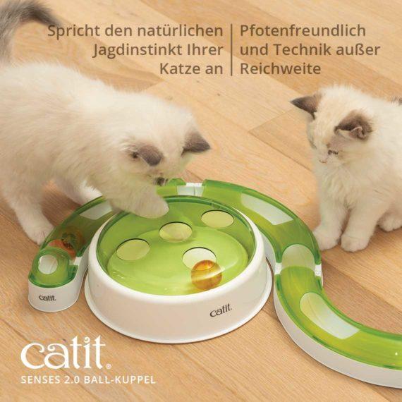 Spricht den natürlichen Jagdinstinkt Ihrer Katze - Pfotenfreundlich und Technik Ausser Reichweite
