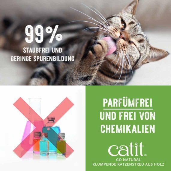 99% staubfrei und geringe spurenbilding - parfümfrei und frei von chemikalien