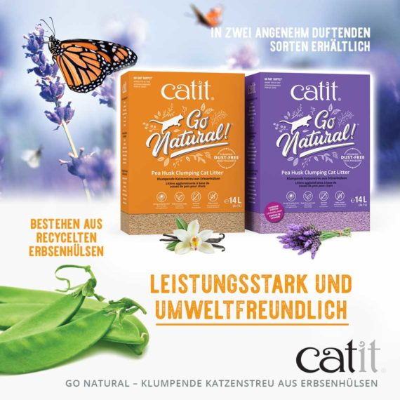 Go Natural Pea Husk - Leistungsstark und umweltfreundlich
