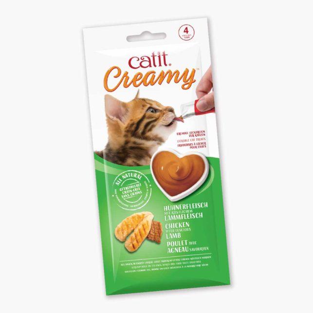 44452 - Catit Creamy - Hühnerfleisch und Lammfleisch