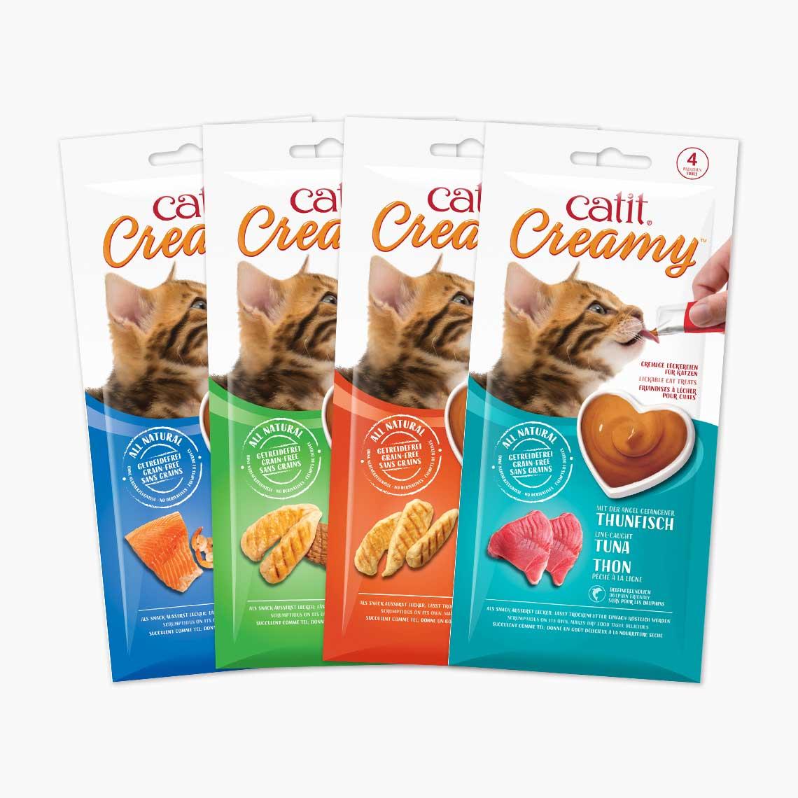 Catit Creamy – 4er-Pack