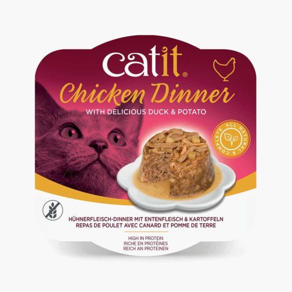 44701 - Catit Hühnerfleisch-Dinner - Entenfleisch & Kartoffeln