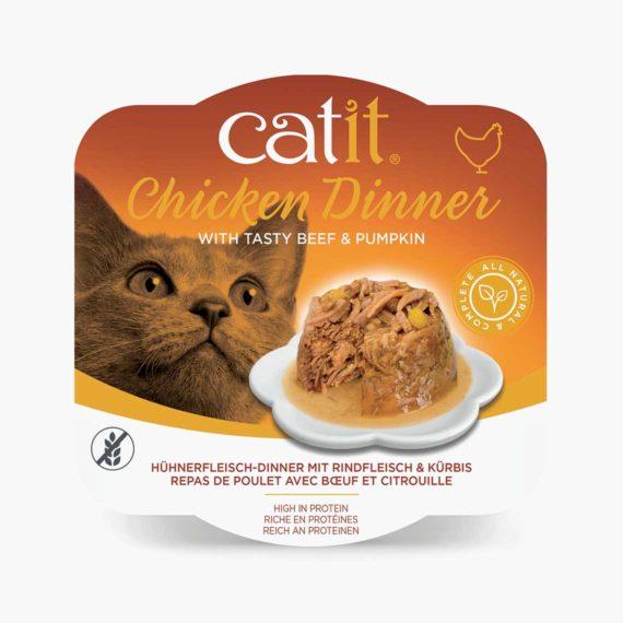 44703 - Catit Hühnerfleisch-Dinner - Rindfleisch & Kürbis