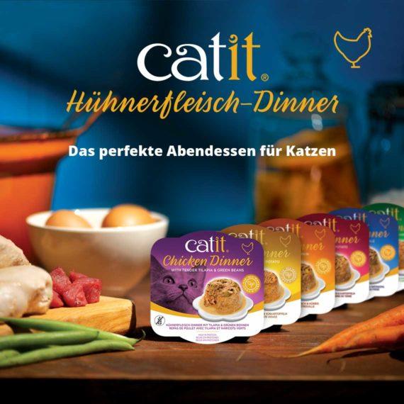 Catit Hühnerfleisch-Dinner - Das perfekte Abendessen für Katzen
