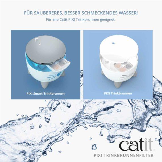 Für saubereres, besser schmeckendes wasser