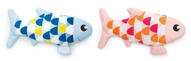 43021-43022 blau rosa Tanzender Fisch