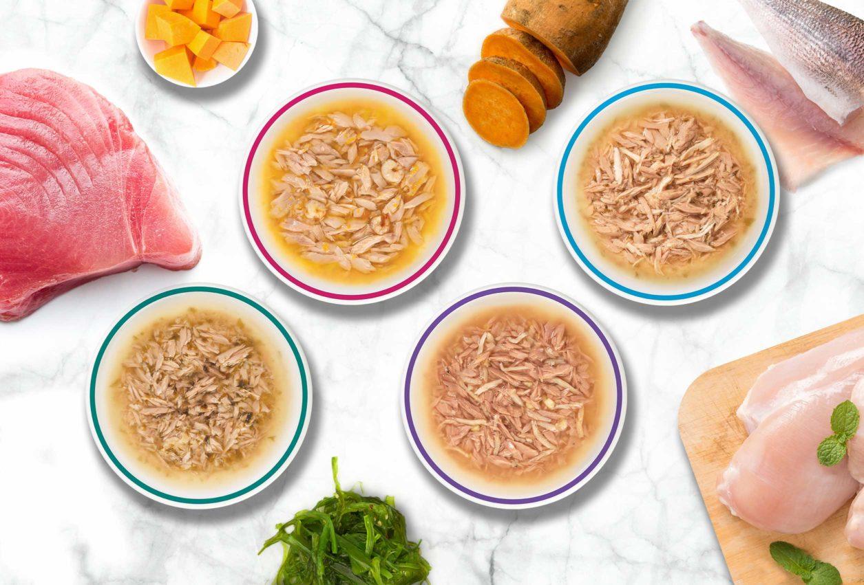 Catit Divine Shreds – Thunfisch - mit nur 4 hochwertigen Zutaten und keinem einzigen Nebenprodukt zubereitet